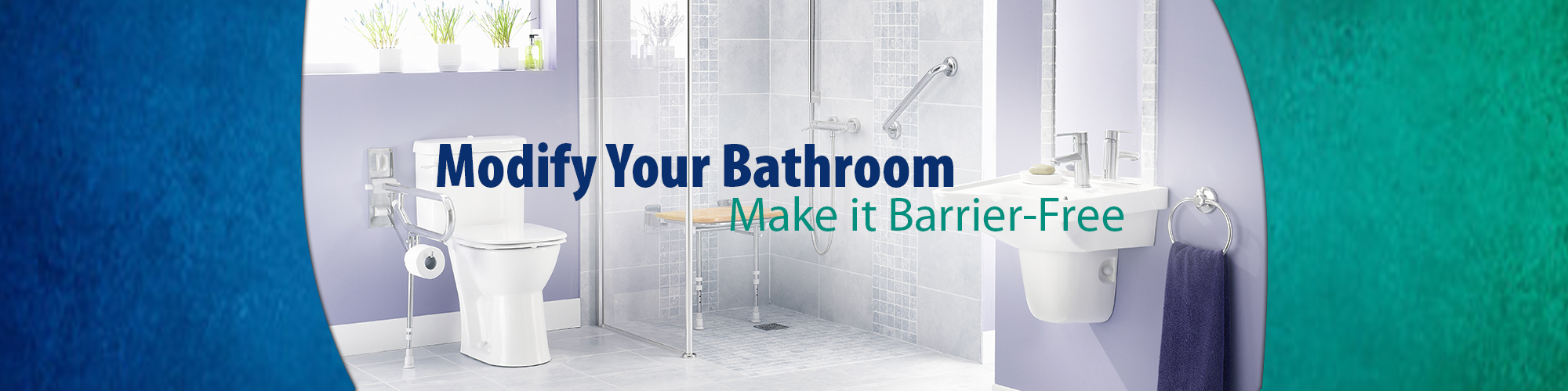 Modify your Bathroom - Make it Barrier Free